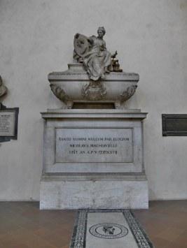 Basilica di Santa Croce - Machiavelli